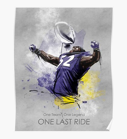 Ray Lewis  |  One Last Ride Poster