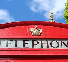 Telephone St Paul's by Sandra Baxter