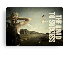 The journey to success. Canvas Print