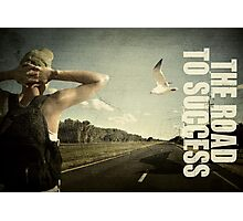 The journey to success. Photographic Print