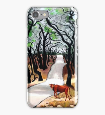 109. Tangled Oaks in the King Ranch. iPhone Case/Skin