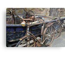 Bicycles.......... Metal Print
