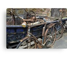 Bicycles.......... Canvas Print