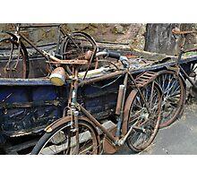 Bicycles.......... Photographic Print