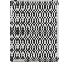 Black seamless geometric pattern  iPad Case/Skin