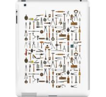 Tools and Utensils. Good Old Days. iPad Case/Skin