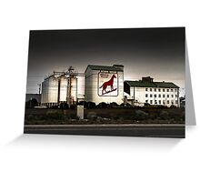 Dingo Flour Mill - Fremantle Western Australia  Greeting Card