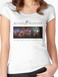 Blade Runner - I've seen things Women's Fitted Scoop T-Shirt
