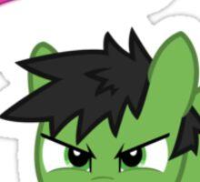 My Little Venger: Hulk Sticker