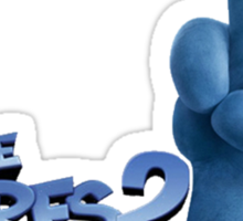 the smurfs 2 Sticker