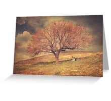 Prozac dreams Greeting Card