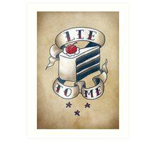 """Lie To Me"" Art Print"