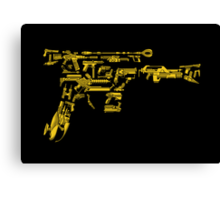 No Match for a Good Blaster - 26 Classic Sci Fi guns Canvas Print