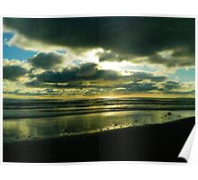 Kalaloch Beach Sunset Poster