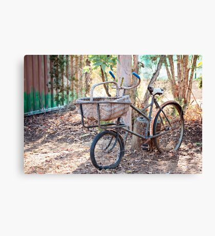 Parked Up  Canvas Print