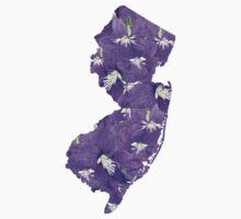 New Jersey Flowers One Piece - Short Sleeve