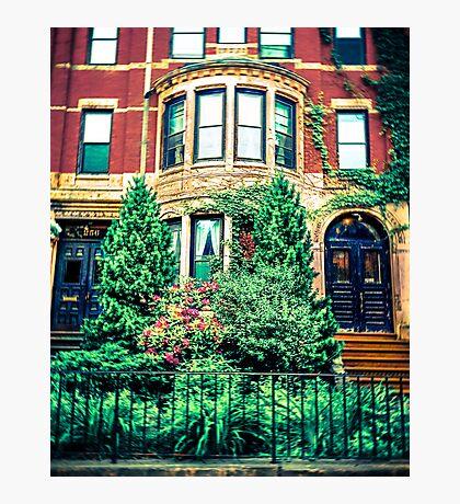 Boston Brownstone Photographic Print