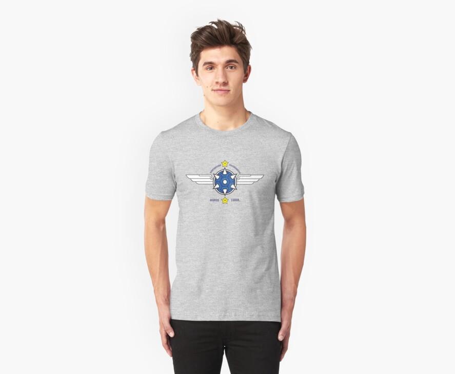 Mario Kart - Blue Shell Shirt by Oliver Fox