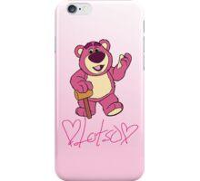 Lotso hugin' bear iPhone Case/Skin