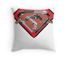 Super Steel Throw Pillow