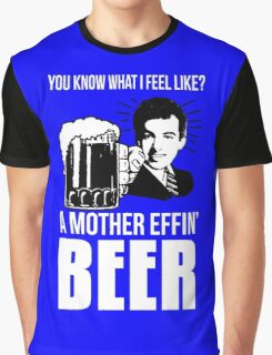 A Mother Effin' Beer Graphic T-Shirt