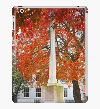 War Memorial, Newark iPad Case/Skin