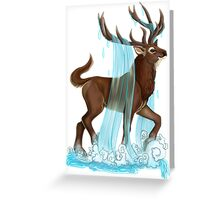 E is for Eikthyrnir Greeting Card