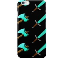 Swords and Pickaxes  iPhone Case/Skin