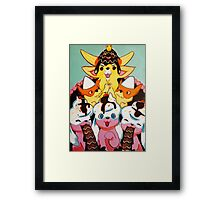 Pupcake Kingdom Framed Print
