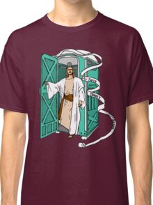 Jesus has left the thrown. Classic T-Shirt