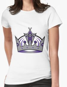 L.A. Kings Crown Womens Fitted T-Shirt