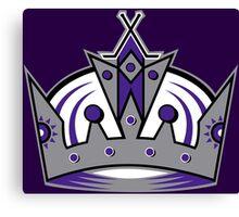L.A. Kings Crown Canvas Print