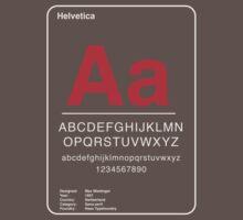 Helvetica Kids Clothes
