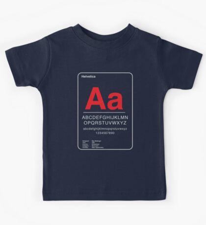 Helvetica Kids Tee