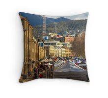 Salamanca Place Throw Pillow