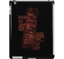 Land Cruiser - Play Dirty iPad Case/Skin