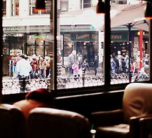 Coffee Shop on Saturday by RainyDayPoetry