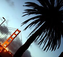 Golden Gate at Dusk by RainyDayPoetry