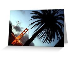 Golden Gate at Dusk Greeting Card
