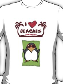 I love Beaches T-Shirt