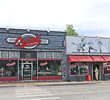 Ozark Cafe, Jasper, Arkansas by Graeme  Hyde