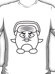 Angry Penguin DJ T-Shirt