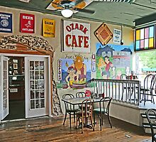 Inside the Ozark Cafe, Jasper by Graeme  Hyde