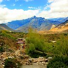Way to muktinath by sajal maskey