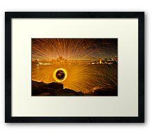Fireflies Framed Print