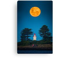 Super Moon of 2013 (No Photoshop) Canvas Print