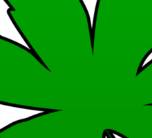 Weed Leaf Sticker