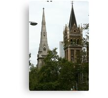 Battle of the spires Canvas Print