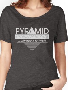 Pyramid Transnational Women's Relaxed Fit T-Shirt