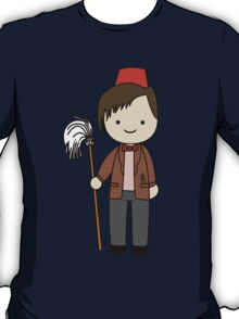 Eleventh Doctor Pandorica Kawaii Cartoon Design T-Shirt